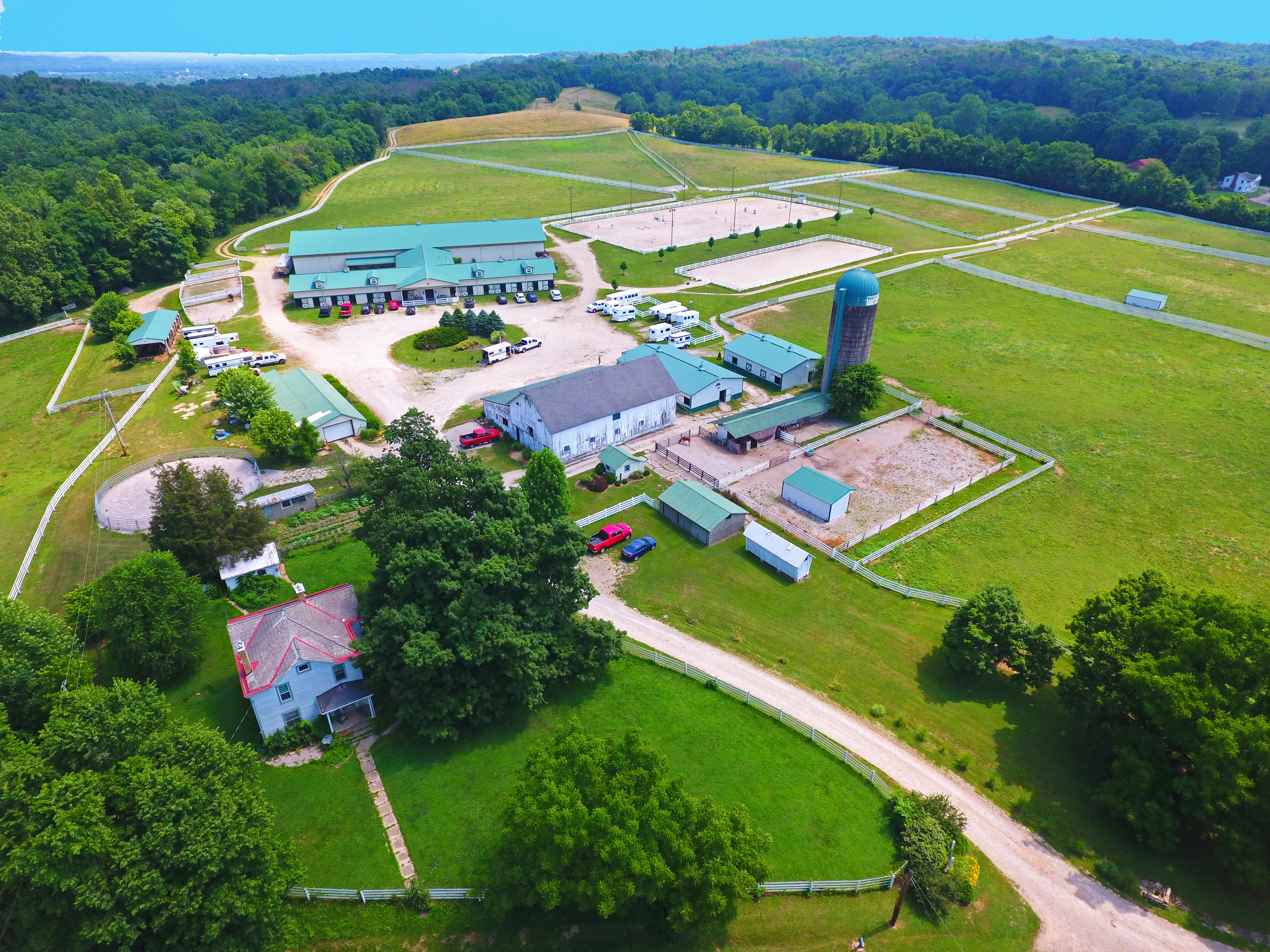 Bird's Eye View of the amenities Photo Credit: A Copter View, copyright 2016